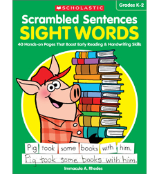 Scrambled Sentences: Sight Words