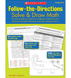Follow-the-Directions: Solve & Draw Math: Grades 6-8