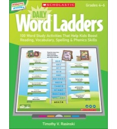Interactive Whiteboard Activities: Daily Word Ladders Grades 4–6