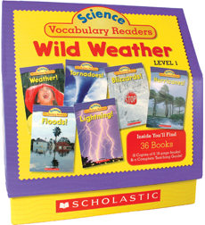 Science Vocabulary Readers: Wild Weather