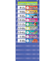 Daily Schedule Pocket Chart