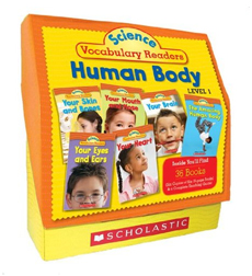 Science Vocabulary Readers Set: Human Body