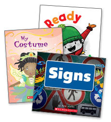 6 Guided Reading Level C Books Set Lot First Step Nonfiction ABOVE AND BELOW