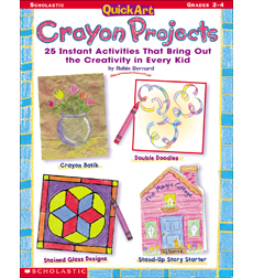 QuickArt Crayon Projects
