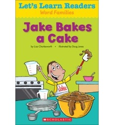 Let's Learn Readers: Jake Bakes a Cake