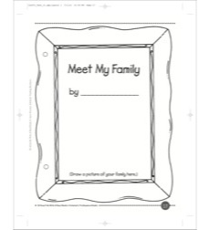 Meet My Family: A Write & Read Book