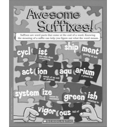 Awesome Suffixes: Word Study Learning Pack