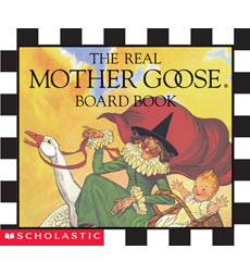 Real Mother Goose: The Real Mother Goose Board Book