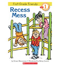 Hello Reader!® Level 1—First-Grade Friends: Recess Mess
