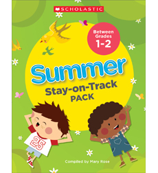 Summer Stay-on-Track Pack Between Grades 1 and 2