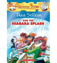 Thea Stilton and The Niagara Splash