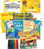 My Books Summer Grade K School Readiness (5 Books)