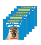Guided Reading Set: Level B – Meet Some Mammals