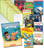 Summer Reading Spanish Fiction & Nonfiction Grade 1 (10 Books)