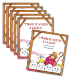 Guided Reading Set: Level I – Charlie Needs a Cloak