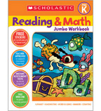 Reading & Math Jumbo Workbook: Grade PreK