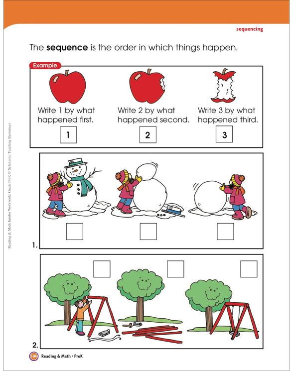 Reading & Math Jumbo Workbook: Grade PreK by