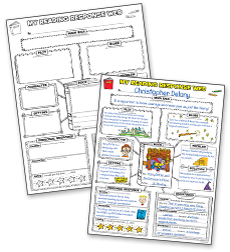 Graphic Organizer Posters: Reading Response (Grades 3–6)