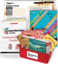 Comprehension Clubs Complete Grade K Set