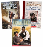 Scholastic Trio Individual Theme Unit Set 5, Language Arts - Historical Fiction, Grades 5-6