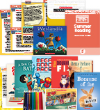 Comprehensive Summer Reading Solution Grade 5 Fiction (5 Books)