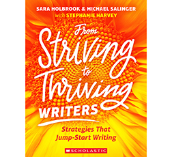 From Striving to Thriving Writers