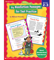 24 Nonfiction Passages for Test Practice (2-3)