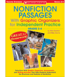 Nonfiction Passages With Graphic Organizers for Independent Practice: Grades 2-4