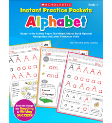 Instant Practice Packets: Alphabet