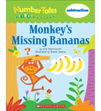 Number Tales: Monkey's Missing Bananas