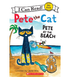 Pete the Cat-My First I Can Read!: Pete at the Beach