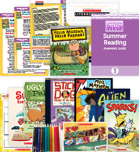 Comprehensive Summer Reading Solution Grade 3 Fiction (5 Books)