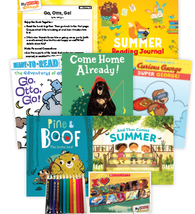 My Books Summer Grade K Fiction Pack