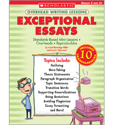 Overhead Writing Lessons: Exceptional Essays