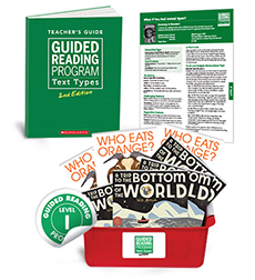Guided Reading Text Types: Level I