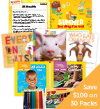 Summer Grade PreK Nonfiction Focus Classroom Set