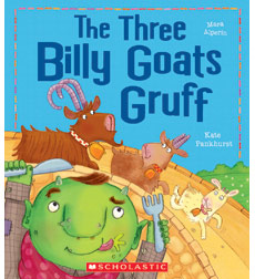 The Three Billy Goats Gruff 9780545846387