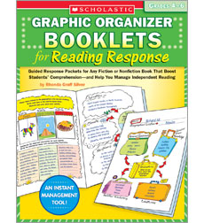 Graphic Organizer Booklets for Reading Response: Grades 4–6