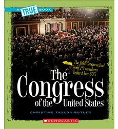 A True Book-American History: The Congress of the United States