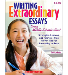 writing extraordinary essays david lee finkle David lee finkle david lee finkle shares a fresh approach to teaching essay writing using real essays, finkle has students explore the variety of organizational patterns and techniques.