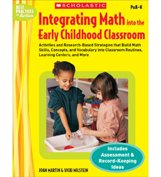Integrating Math Into the Early Childhood Classroom