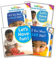Read & Rise Books and Fun Cards Ages 0-2