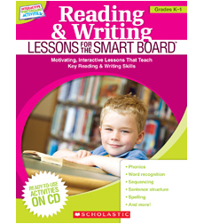Reading & Writing Lessons for the SMART Board™: Grades K-1