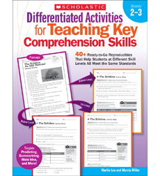 Differentiated Activities for Teaching Key Comprehension Skills: Grades 2–3