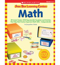 Shoe Box Learning Centers: Math