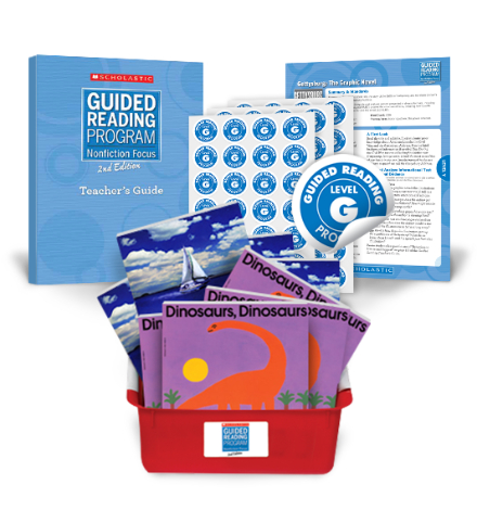 Guided Reading Nonfiction Focus 2nd Edition Level G