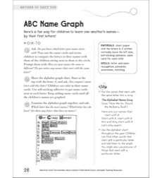 ABC Name Graph: Circle Time Activity