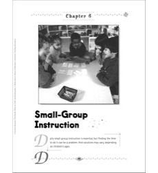Small Group Instruction: Class Routines for PreK & K
