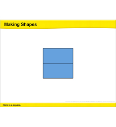 Making Shapes: Math Lesson