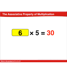 The Associative Property of Multiplication: Math Lesson